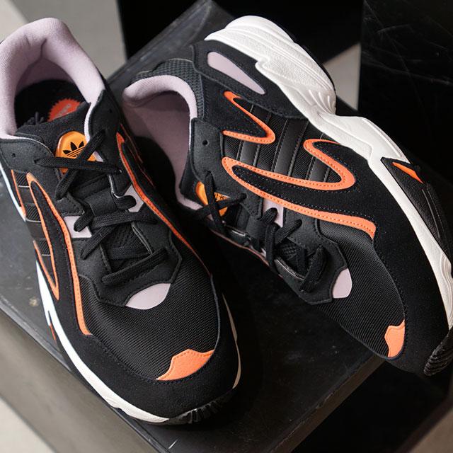 アディダス オリジナルス adidas Originals ヤング 96 チャスム YUNG-96 CHASM メンズ・レディース ダッドシューズ スニーカー 靴 コアブラック/コアブラック ブラック系 (EE7234 FW19)【ts】【e】