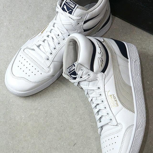 Puma PUMA Ralph Sampson mid OG RALPH SAMPSON MID OG men gap Dis sneakers shoes Puma white white system (370,718 01 FW19)