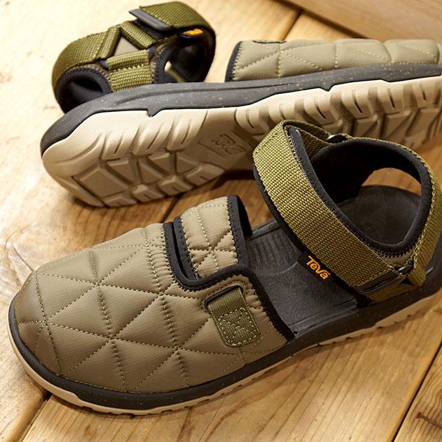 【月間優良ショップ】テバ Teva メンズ ハリケーン ハイブリッド M HURRICANE HYBRID モックサンダル ストラップサンダル 靴 DOL カーキ系 (1103218 FW19)【ts】