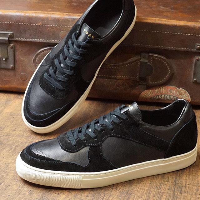 【月間優良ショップ】ヨーク YOAK メンズ ユリス ULYSE 日本製 スニーカー 靴 BLACK ブラック系 (FW19)