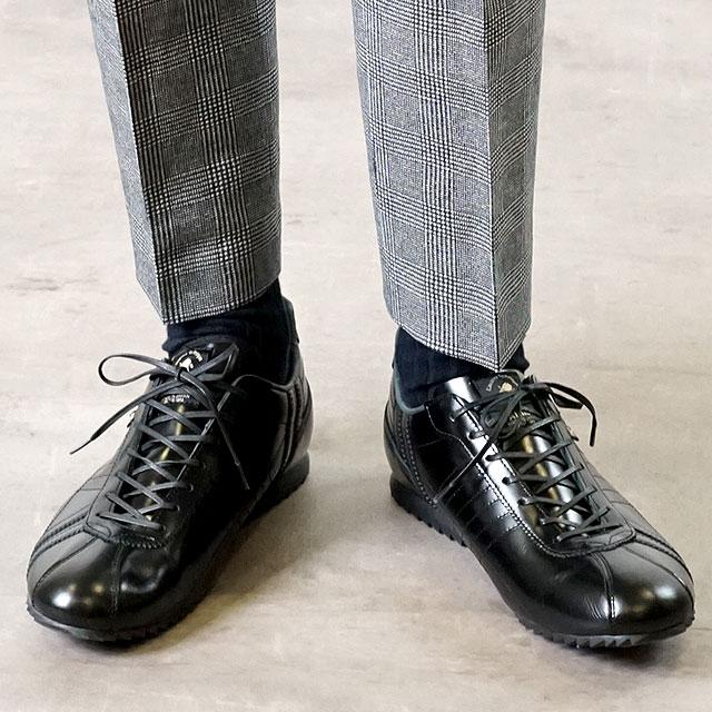 【あす楽対応】【返品送料無料】パトリック PATRICK シュリー ラグジュアリー SULLY-FM/LX メンズ スニーカー ビジネス 日本製 靴 BLK ブラック系 (26529)