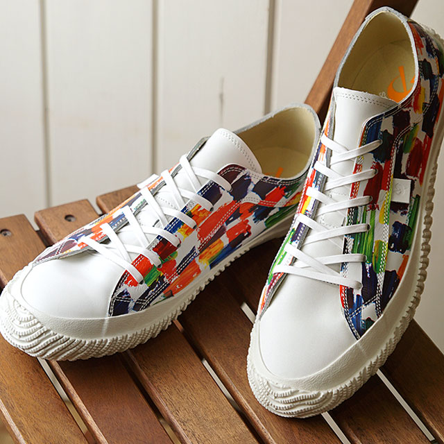【月間優良ショップ】【あす楽対応】【返品送料無料】スピングルムーブ SPINGLE MOVE 日本製 キャンバス SPM-157 メンズ・レディース スピングルムーヴ スニーカー 靴 WHITE (SPM157 FW19WINTER)
