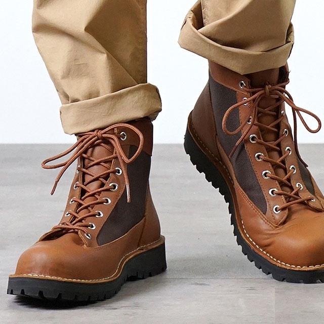 【月間優良ショップ】Danner ダナー マウンテンブーツ メンズ DANNER FIELD ダナー フィールド TAN/DARK BROWN 靴 (D121003 SS18)