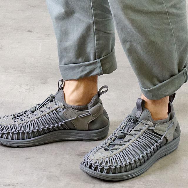 キーン KEEN メンズ ユニーク エイチティー MEN UNEEK HT ブーティー シューズ スニーカー 靴 Gray/Gray (1019952 FW18)【ts】【e】