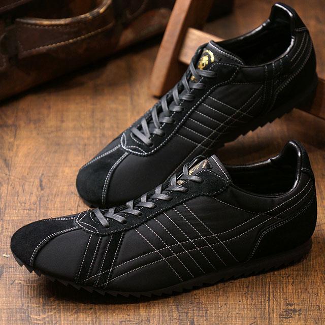 【月間優良ショップ】【あす楽対応】【返品送料無料】パトリック PATRICK スニーカー シュリッチ SULLICH メンズ・レディース 日本製 靴 BLK ブラック系 (501861 FW19Q4)
