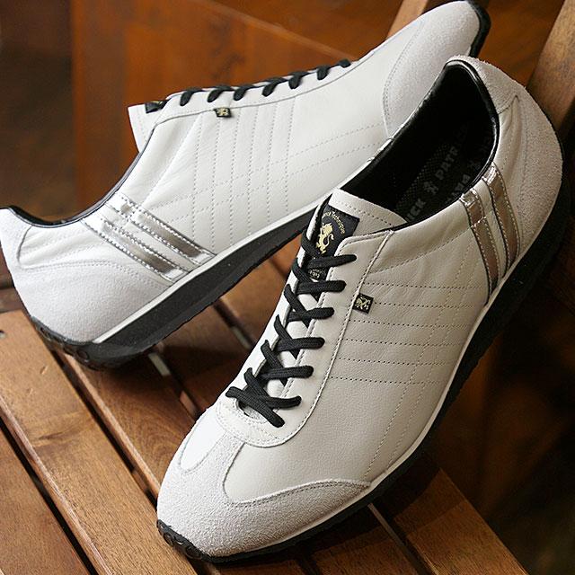 【あす楽対応】【返品送料無料】【復刻カラー】パトリック PATRICK スニーカー アイリス IRIS メンズ・レディース 日本製 靴 WH/SV ホワイト系 (23520 FW19Q4)