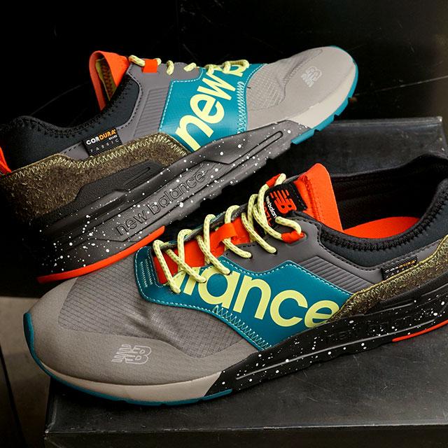【月間優良ショップ】ニューバランス newbalance CMT997H メンズ・レディース スニーカー 靴 GRAY/GREEN グレー系 (CMT997HB SS20)【ts】