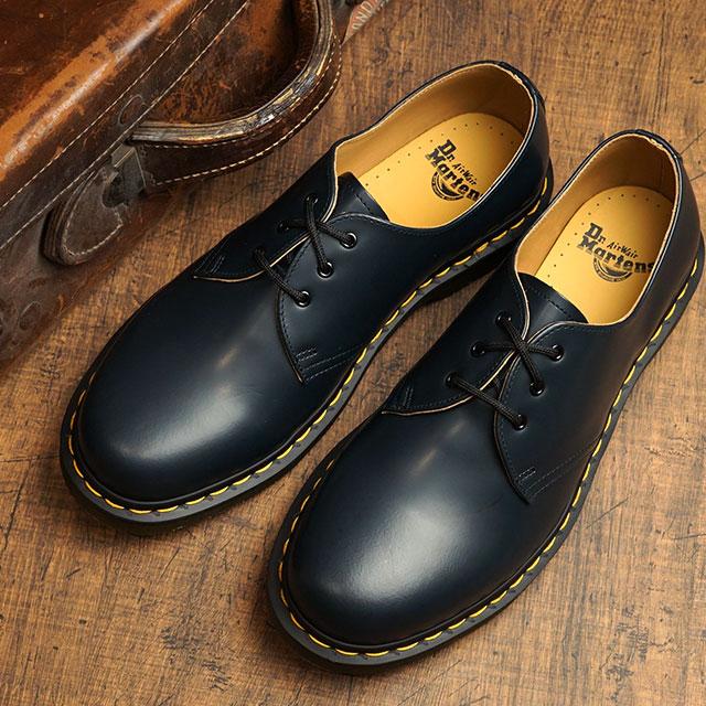 ドクターマーチン Dr.Martens 3ホールシューズ 1461Z (26226410 SS20) メンズ・レディース ローカット 靴 NAVY SMOOTH ネイビー系