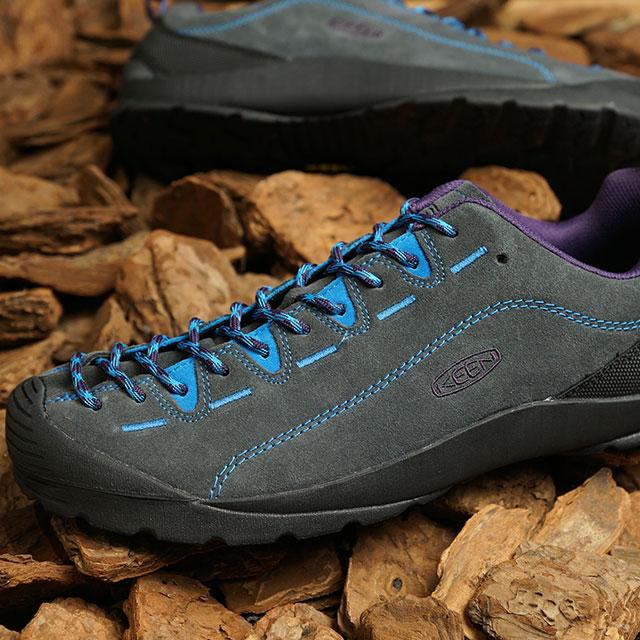 【月間優良ショップ】KEEN キーン スニーカー ジャスパー M JASPER (1022642 SS20) メンズ アウトドアシューズ 靴 Magnet/Brilliant Blue グレー系