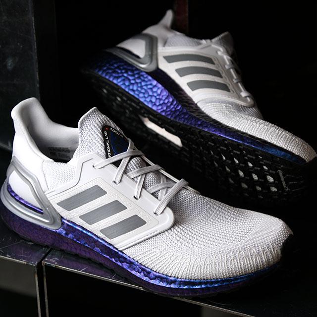 【月間優良ショップ】アディダス adidas スニーカー ウルトラブースト20 ULTRABOOST 20 (EG0755 SS20) メンズ ランニングシューズ 靴 D.GRAY グレー系【ts】