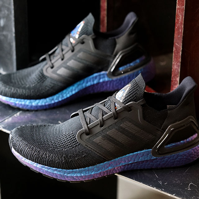 アディダス adidas スニーカー ウルトラブースト20 ULTRABOOST 20 (EG1341 SS20) メンズ ランニングシューズ 靴 CORE BLACK ブラック系【ts】【e】