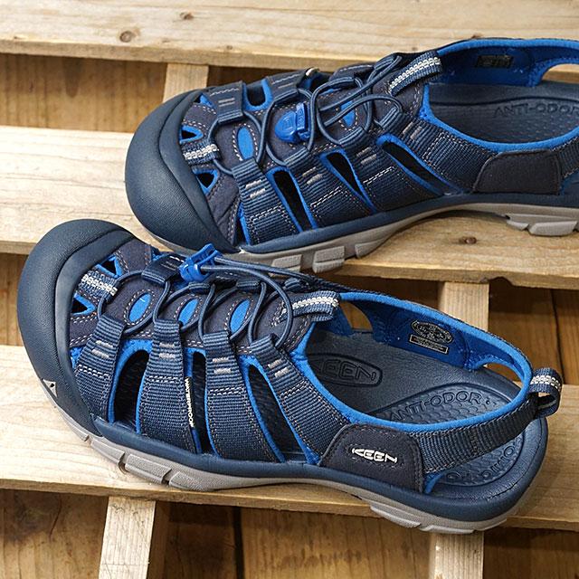 キーン KEEN サンダル ニューポート エイチツー M NEWPORT H2 (1017342 SS18) メンズ スポーツサンダル キャンプ アウトドア 靴 DRESS BLUES/CLASSIC BLUE ブルー系【ts】【e】