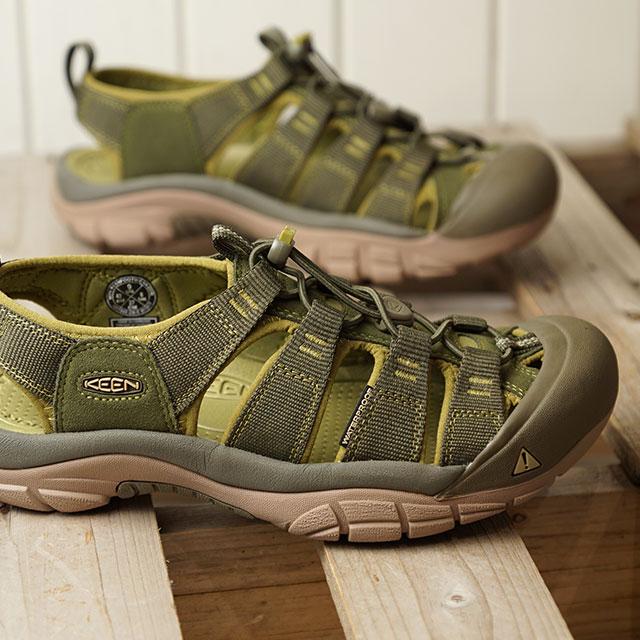 キーン KEEN サンダル ニューポート エイチツー M NEWPORT H2 (1017343 SS18) メンズ スポーツサンダル キャンプ アウトドア 靴 DARK OLIVE/GREEN MOSS カーキ系【ts】【e】