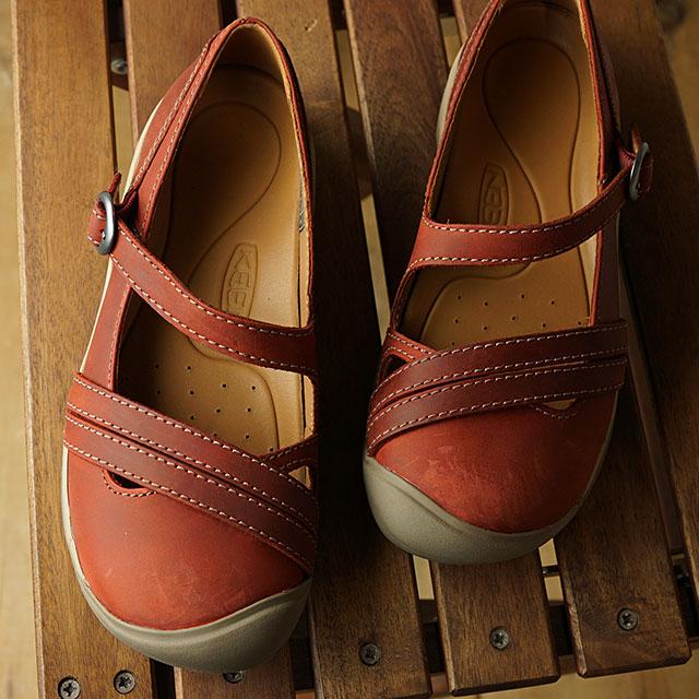 キーン KEEN サンダル プレシディオ2 クロスストラップ W PRESIDIO II CROSS STRAP (1020521 SS19) レディース キャンプ アウトドア 靴 FIRED BRICK/BR ブラウン系【ts】
