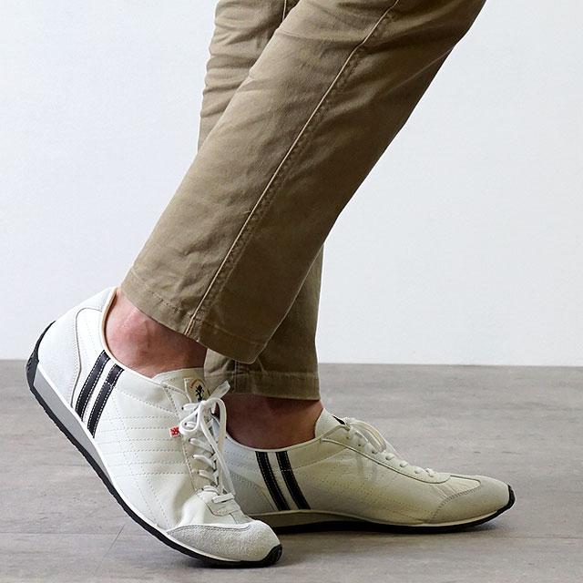 【返品送料無料】【ノベルティプレゼント】パトリック PATRICK スニーカー IRIS アイリス メンズ・レディース 日本製 靴 WHT/BK ホワイト/ブラック [23501]【定番モデル】