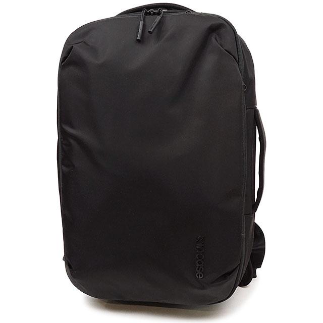 インケース Incase メンズ ビア バックパック ライト ウィズ フライトナイロン 19L VIA Backpack Lite with Flight Nilon ビジネスバッグ 通勤 通学 リュックサック デイパック Black ブラック系 (37193024 FW19)