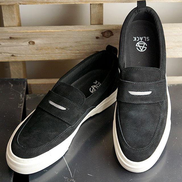【月間優良ショップ】スラック フットウェア SLACK FOOTWEAR フォルティ FOLTI メンズ・レディース スニーカー 靴 ローファー BLACK/WHITE ブラック系 (SL1740-001 SS20)