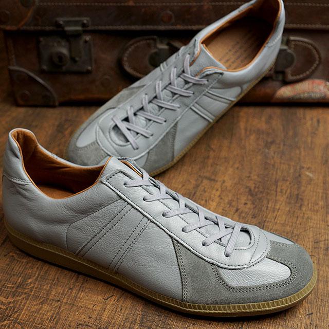 リプロダクション オブ ファウンド REPRODUCTION OF FOUND ジャーマントレーナー GERMAN MILITARY TRAINER メンズ・レディース ミリタリースニーカー 靴 GRAY グレー系 (1700L SS20)