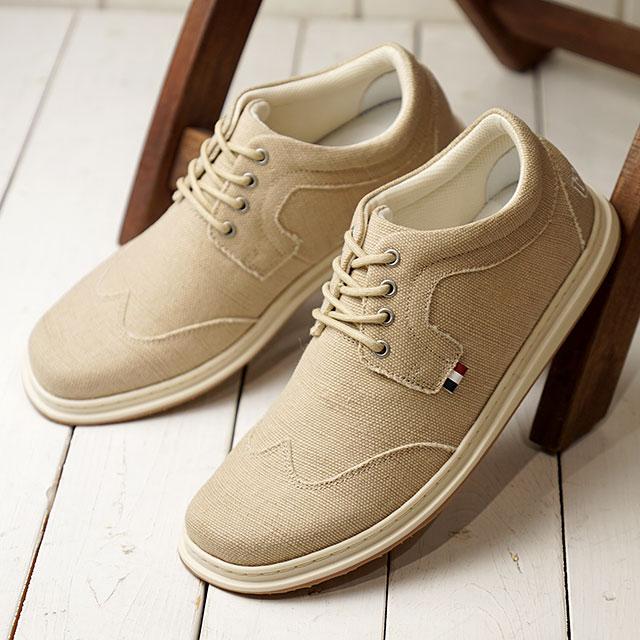 コンカラー シューズ conqueror shoes メンズ レドンド REDONDO サーフ カジュアル スニーカー 靴 CV TAN ベージュ系 (20SS-RD01 SS20)