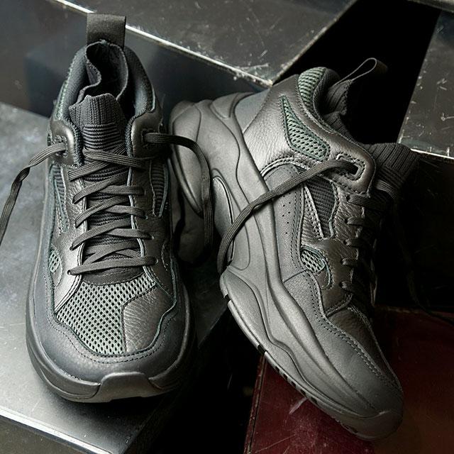 【月間優良ショップ】ブランドブラック BRANDBLACK スニーカー サガ SAGA (46160 SS20) メンズ ビブラムソール シューズ 靴 OG-BBK ブラック系
