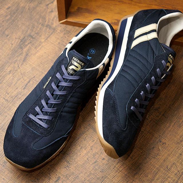 【返品送料無料】パトリック PATRICK スニーカー ヘブンリー・マラソン HEAVENLY-M (502092 SS20) メンズ・レディース MARATHON 日本製 靴 NVY ネイビー系