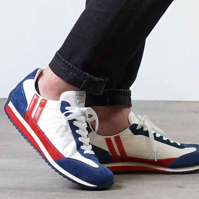 【月間優良ショップ】【返品送料無料】パトリック PATRICK スニーカー マラソン MARATHON (942009 SS20) メンズ・レディース 日本製 靴 TEKND ホワイト系