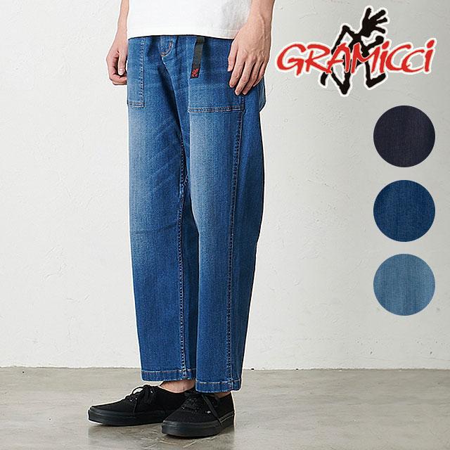 【月間優良ショップ】グラミチ GRAMICCI メンズ デニム ルーズテーパドパンツ DENIM LOOSE TAPERED PANTS (2002-DEJ SS20) ストレッチ ロングパンツ ボトムス