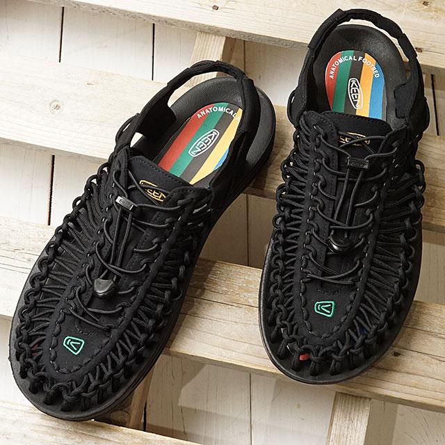 【限定】KEEN キーン サンダル ユニーク M UNEEK (1023048 SS20) メンズ アウトドア スニーカー 靴 Multi/Black ブラック系