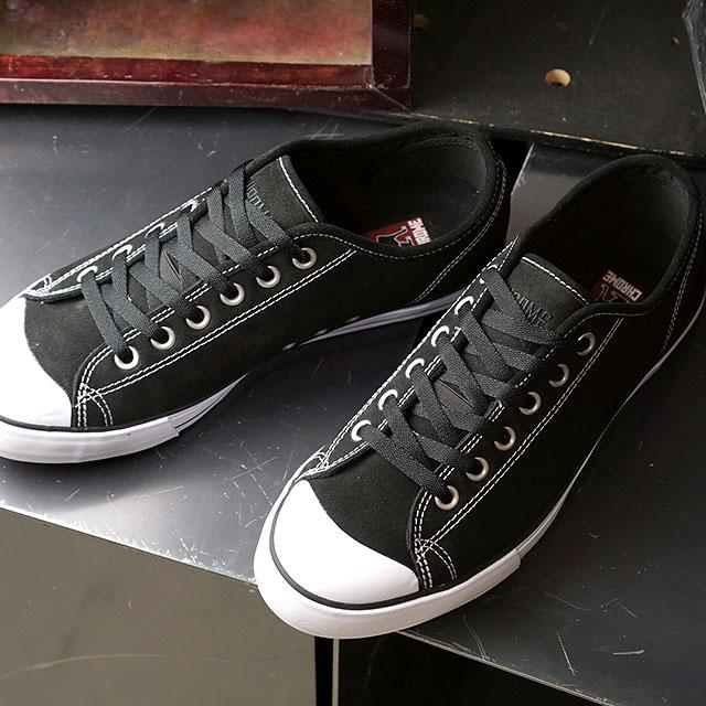 クローム CHROME メンズ クルスク KURSK 自転車 防滑 スニーカー 靴 BLACK/WHITE SUEDE ブラック系 (FW167BWSD0 SS20)