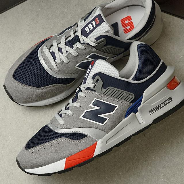 ニューバランス newbalance メンズ MS997 スニーカー 靴 GRAY/NAVY グレー系 (MS997LOQ SS20)【e】【ts】
