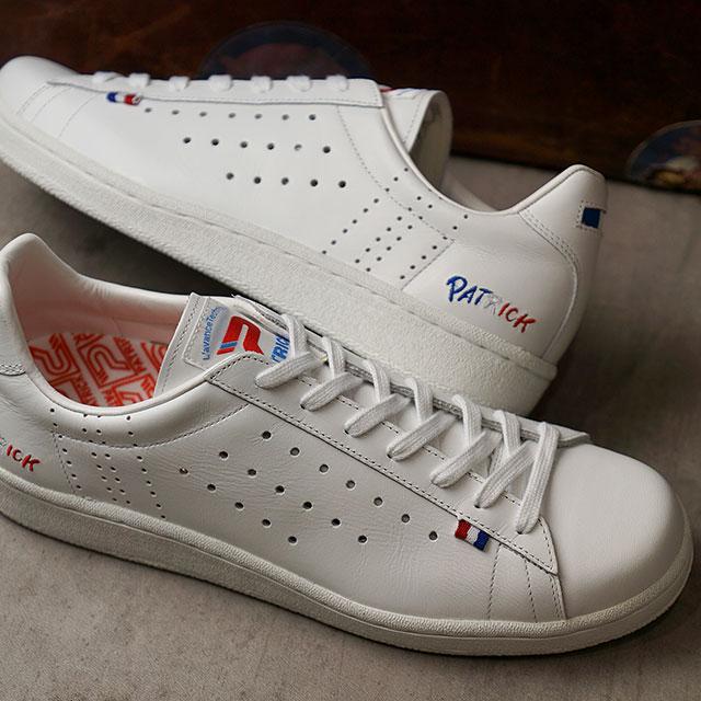 【返品送料無料】パトリック PATRICK スニーカー トリコベック TRICOBEC (502050 SS20) メンズ・レディース 日本製 靴 WHT ホワイト系