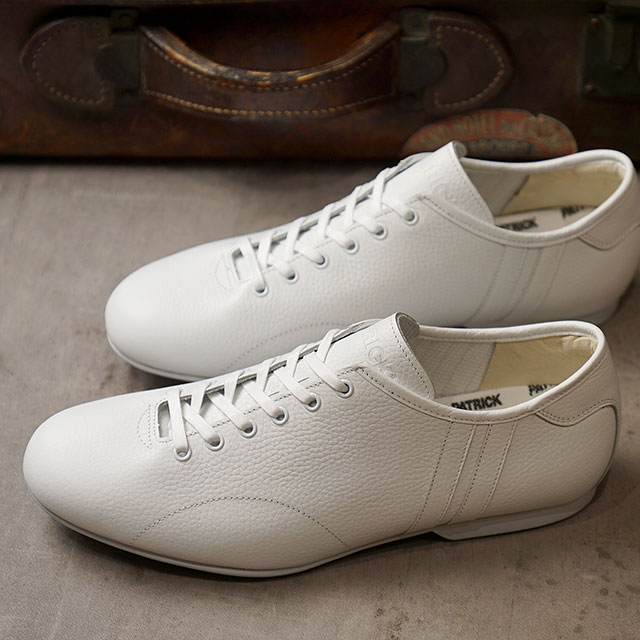 【返品送料無料】パトリック PATRICK スニーカー ベルネー BERNAY (720030 SS20) メンズ・レディース 防水 レインシューズ 日本製 靴 WHT ホワイト系