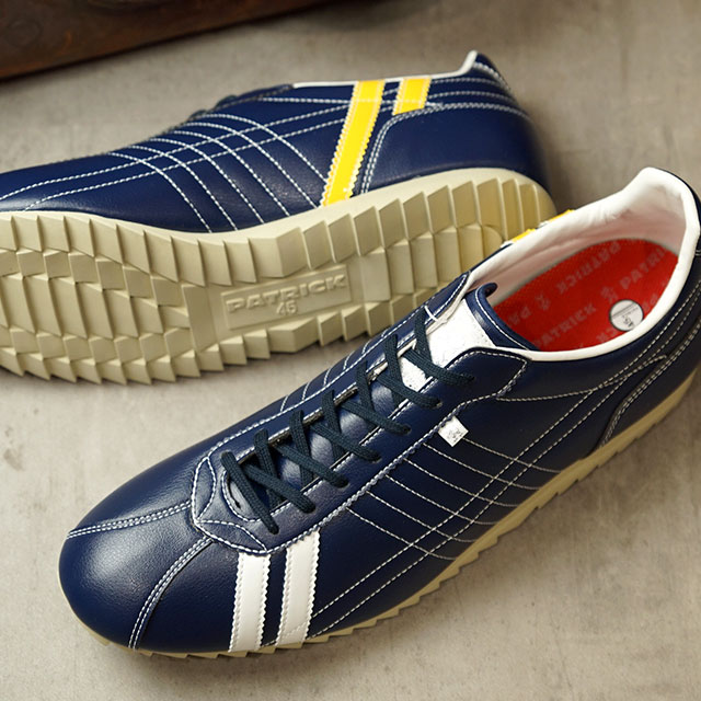 【返品送料無料】パトリック PATRICK スニーカー シュリー SULLY (262002 SS20) メンズ・レディース 日本製 靴 N/WY ネイビー系