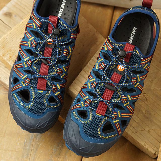 【月間優良ショップ】メレル MERRELL ウォーターシューズ チョップロック シャンダル M CHOPROCK SHANDAL (99929 SS20) メンズ アウトドア スニーカー サンダル 靴 SAILOR ブルー系