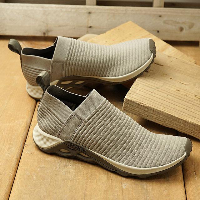 メレル MERRELL スニーカー レンジ レースレス エーシープラス M RANGE LACELESS AC+ (001013 SS20) メンズ シューズ 靴 MOON ベージュ系