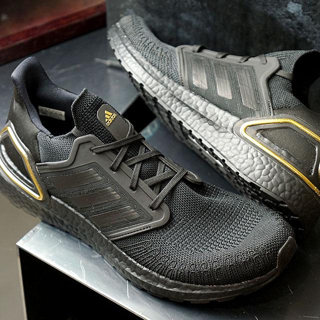 アディダス adidas スニーカー ウルトラブースト20 ULTRABOOST 20 (EG0754 SS20) メンズ ランニングシューズ 靴 CORE BLACK ブラック系【ts】【e】