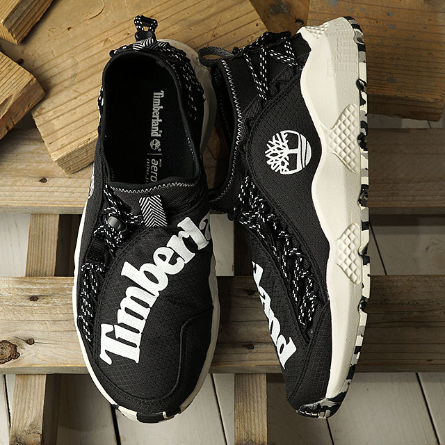 【月間優良ショップ】ティンバーランド Timberland メンズ リップコード バンジー RIPCORD BUNGEE 軽量 スニーカー 靴 Black Ripstop ブラック系 (A1YVB SS20)