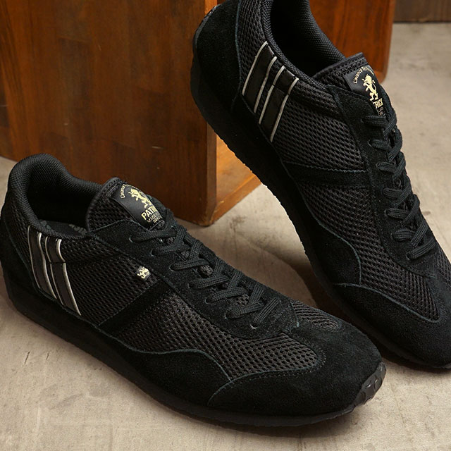 【月間優良ショップ】【返品送料無料】パトリック PATRICK スニーカー クール・スタジアム C-STADIUM (272001 SS20) メンズ・レディース 日本製 靴 NOIR ブラック系