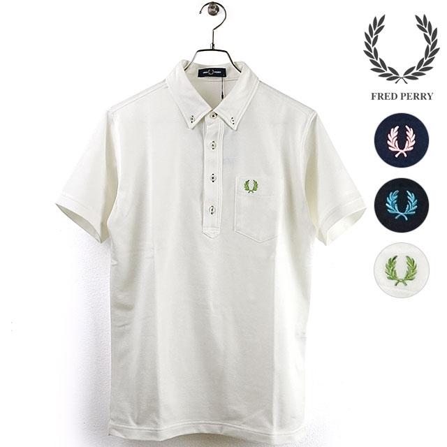 【月間優良ショップ】フレッドペリー FRED PERRY メンズ ポロシャツ ボタンダウン ピケ シャツ B.D PIQUE SHIRT (F1819 SS20) メンズ・レディース トップス 半袖