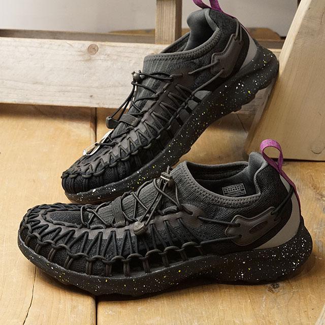 【限定】KEEN キーン スニーカー ユニーク スニーク M UNEEK SNK (1022379 SS20) メンズ アウトドアシューズ 靴 Black Spray ブラック系