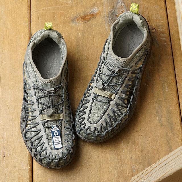 【月間優良ショップ】【限定】KEEN キーン スニーカー ユニーク スニーク W UNEEK SNK (1022407 SS20) レディース アウトドアシューズ 靴 Dust Spray グレー系