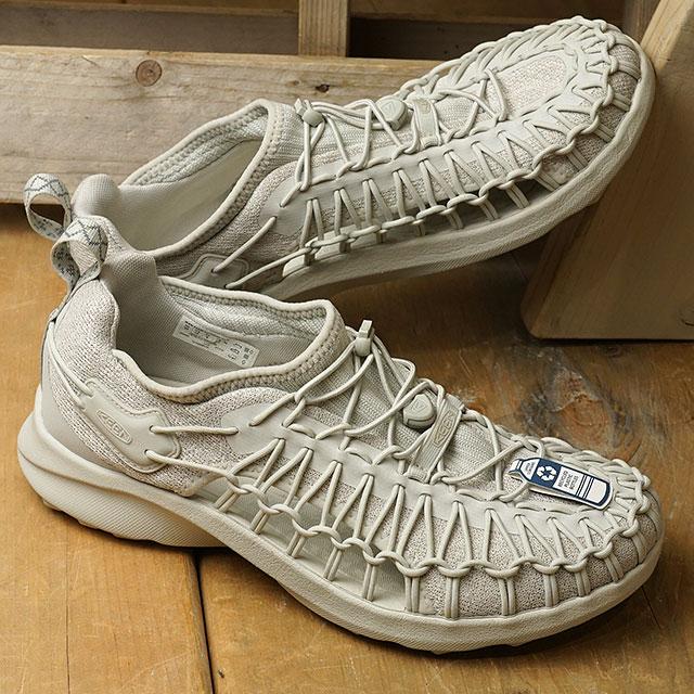 【月間優良ショップ】【限定】KEEN キーン スニーカー ユニーク スニーク M UNEEK SNK (1022384 SS20) メンズ アウトドアシューズ 靴 Silver Birch/Silver Birch グレー系