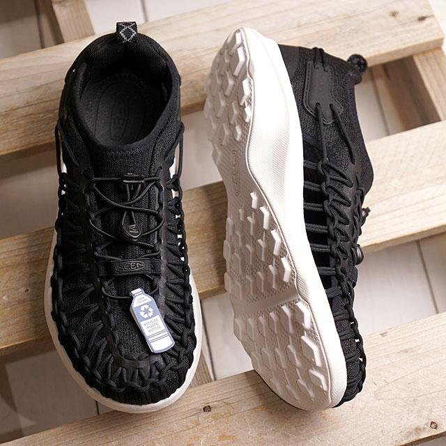 【月間優良ショップ】【限定】KEEN キーン スニーカー ユニーク スニーク W UNEEK SNK (1022413 SS20) レディース アウトドアシューズ 靴 Black/Star White ブラック系