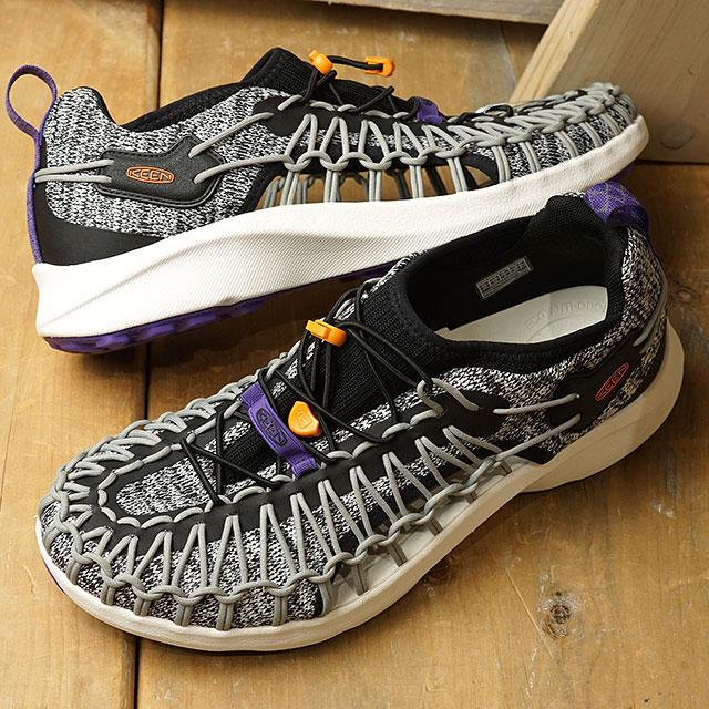 【限定】KEEN キーン スニーカー ユニーク スニーク M UNEEK SNK (1022386 SS20) メンズ アウトドアシューズ 靴 Mix Grey/Black グレー系