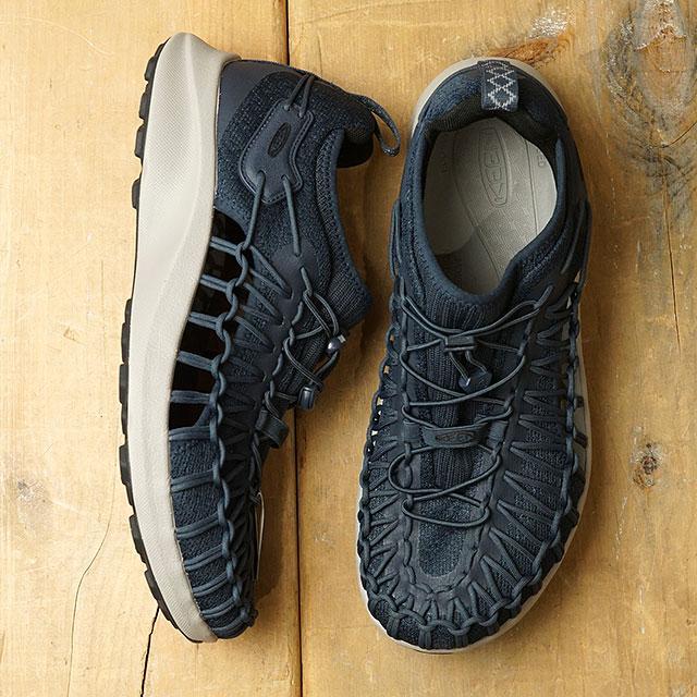 【月間優良ショップ】【限定】KEEN キーン スニーカー ユニーク スニーク M UNEEK SNK (1022381 SS20) メンズ アウトドアシューズ 靴 Blue Nights/Black ネイビー系