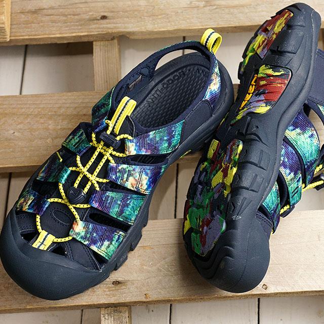 【限定】KEEN キーン サンダル ニューポート エイチツー M NEWPORT H2 (1022254 SS20) メンズ アウトドア ウォーターシューズ 靴 Ddye 8 ブルー系