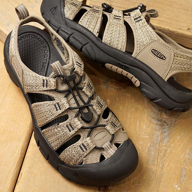 KEEN キーン サンダル ニューポート エイチツー M NEWPORT H2 (1022251 SS20) メンズ アウトドア ウォーターシューズ 靴 Taupe/Black カーキ系