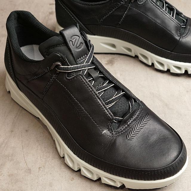 エコー ECCO スニーカー マルチベント ゴアテックス MULTI-VENT M GORE-TEX (88012401001 SS20) メンズ パンチングレザー 靴 BLACK ブラック系