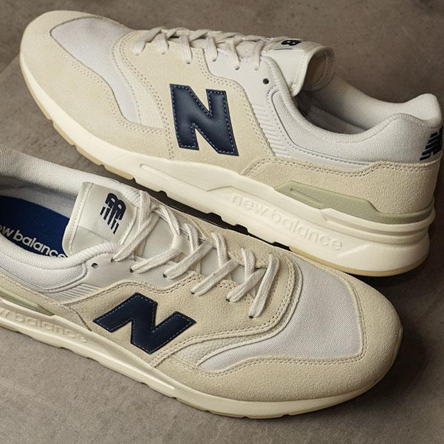ニューバランス newbalance CM997H メンズ・レディース スニーカー 靴 WHITE/NAVY ホワイト系 (CM997HBP SU20)