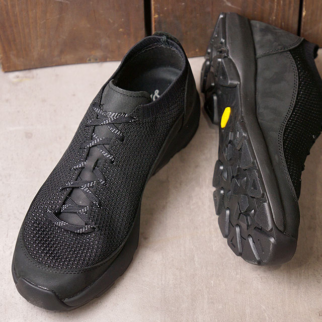 ダナー Danner スニーカー カプリーン ロウ CAPRINE LOW (31332 SS20) メンズ ニットアッパー 靴 JET BLACK ブラック系